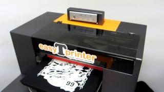 Easy T Printer Deluxe DTG - Printing Dark T-Shirt