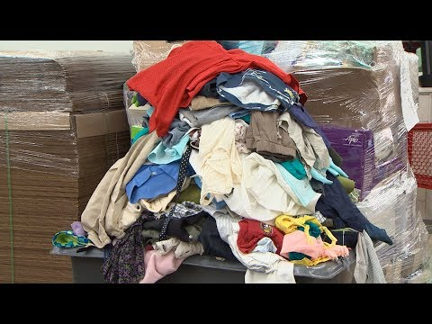 How fast fashion adds to the world's clothing waste problem