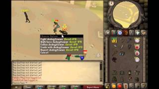 2007Scape 1 Pray Staking! Mage/armor/dds stakes, 999134thpure OSRS Vid 15