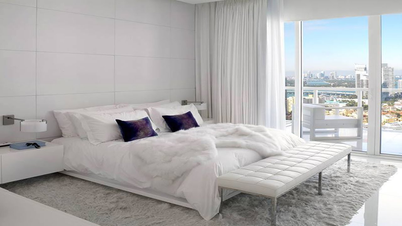 White Bedrooms Furniture Ideas For Making Your Bedroom Romantic ·▭· · ···    YouTube