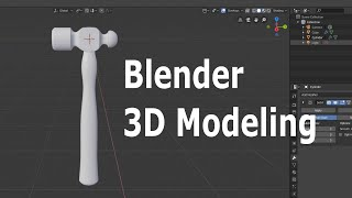 Blender 2.8 Beginner 3D Modeling Tutorial