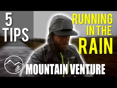 5 Tips for Running in the Rain | MOUNTAIN VENTURE