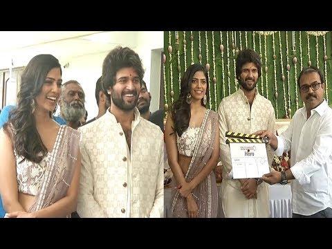 Vijay Devarakonda New Movie  Opening | Vijay New Movie Hero | Vijay devarakonda, Malavika Mohanan