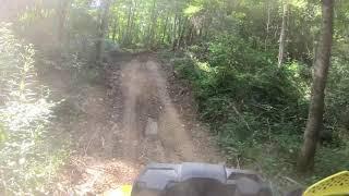 Tecumseh Trails new trail Dragons tail!