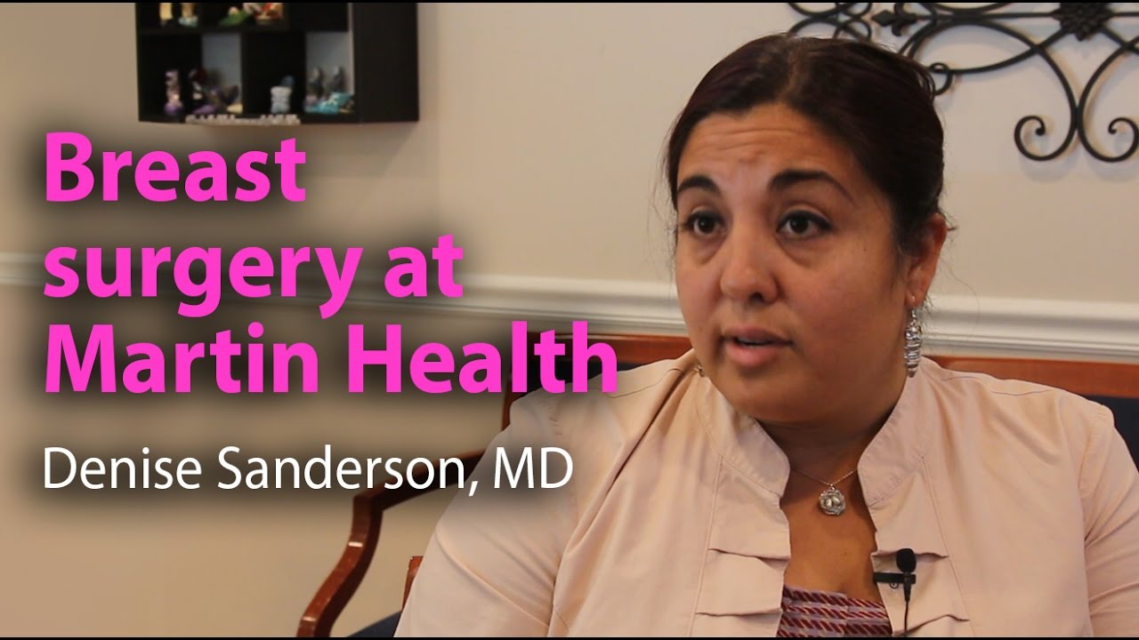 Denise Sanderson, MD Breast Cancer Surgery Specialist