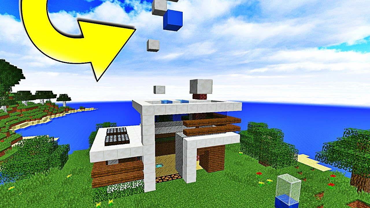 Une maison qui se construit toute seule dans minecraft for Acheter une maison seule