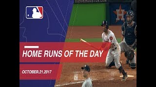 Check out all the homers from ALCS Game 7: 10/21/17
