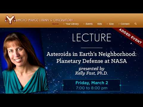 Asteroids in Earth's Neighborhood: Planetary Defense at NASA