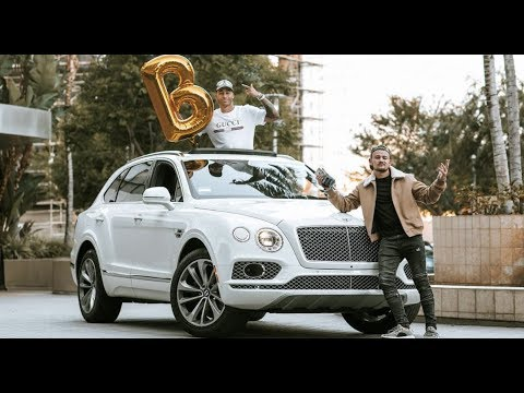 20 Year Old Takes Delivery Of 220 000 Bentley Truck Bentayga