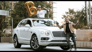 20 Year Old Takes Delivery Of $220,000 Bentley Truck (Bentayga)