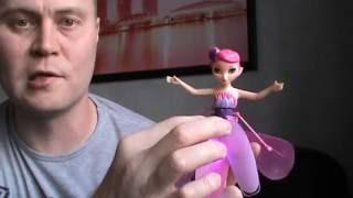 Кукла летающая фея, советы и маленький прикол с куклой :)