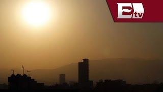 Valle de México registra fuerte radiación solar / Excélsior informa