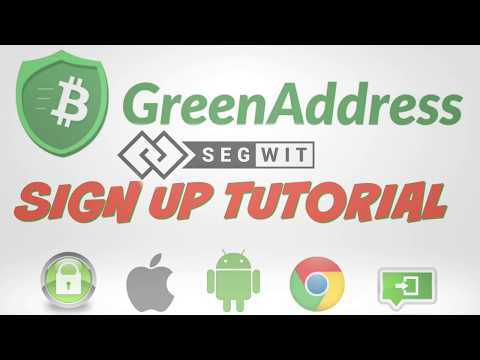Green Address Digital Wallet Sign Up And Getting Started Tutorial For Beginners
