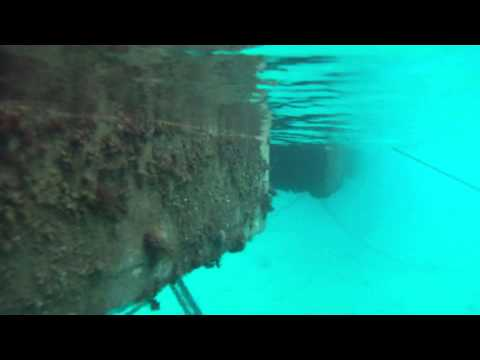 Sailing Croatia - Marina Piskera - Underwater movie (2013.10