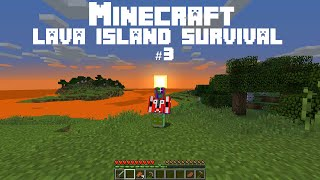 Minecraft LAVA ISLAND #3: The House Of Scotland (And A Congrats To Adam & Alesa On Their New Baby!)