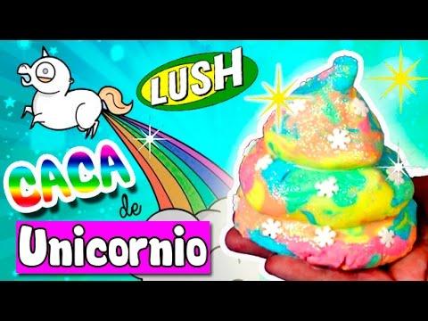Caca de unicornio diy bomba de ba o casera lush youtube - Bombas de bano lush ...