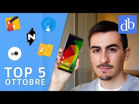 TOP 5 Migliori APP Android | Ottobre 2017 | Le migliori per Android! • Ridble