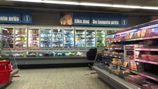 Market Grocery Store food In Amsterdam Albert Heijn Travel & Eat Cheap Europe