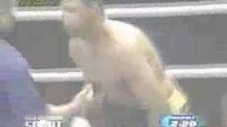 Muaythai VS Boxing (in Japan)