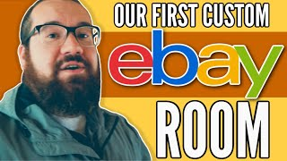 The First Custom Home ebay Room