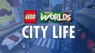 Brand New City Builds for LEGO Worlds