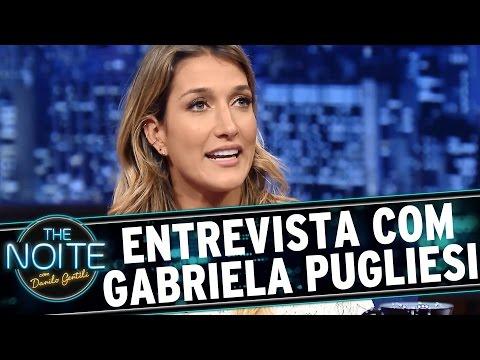 The Noite (08/07/15) - Entrevista com Gabriela Pugliesi