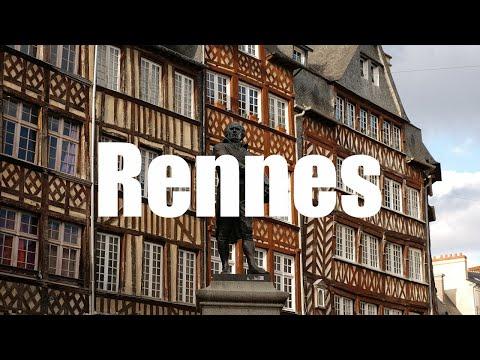 Rennes, Bretagne - 4K UHD - Virtual Trip