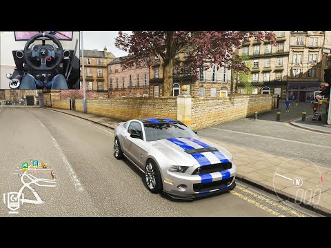 Tobey Marshall's 900BHP Shelby Mustang GT500 - Forza Horizon 4 | Logitech G29 Gameplay