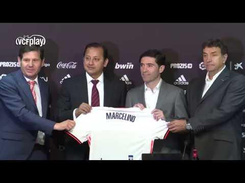 PRESENTACIÓN MARCELINO | VALENCIA CF