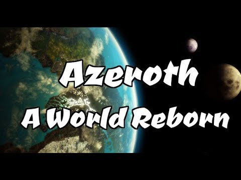 WCIII: Azeroth - A World Reborn (Gorgeous Custom Map)
