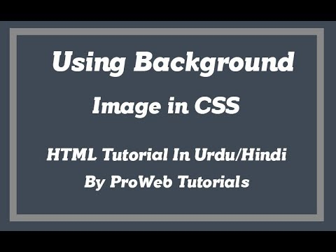 Using background image in CSS