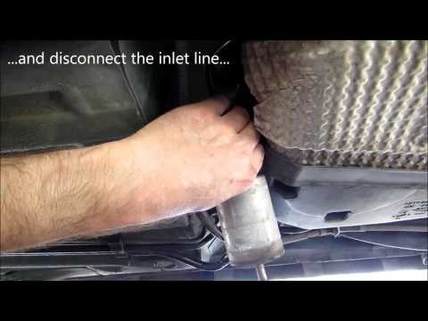2004 jaguar x type fuel filter replacement youtube. Black Bedroom Furniture Sets. Home Design Ideas