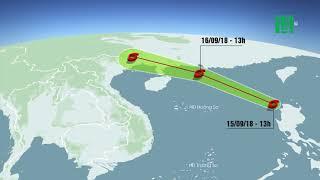 Cơn bão số 6 sẽ gây mưa lớn cho Bắc bộ | VTC14