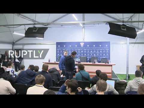 LIVE: Spain's national football team holds press conference in Saint Petersburg