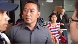 Adu Mulut Diikuti Tindakan Kasar Petugas Keamanan Apartemen Green Pramuka City.