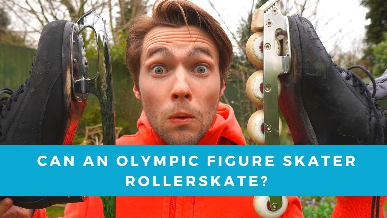 Can an Olympic Figure Skater Inline Skate?