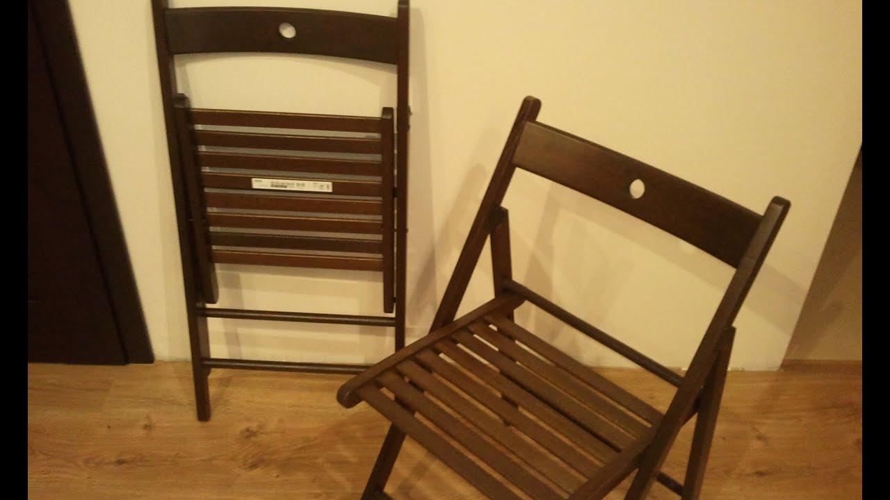 Terje Folding Chair - Krzeslo Skladane Ikea