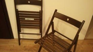 TERJE Folding chair - TERJE Krzeslo skladane (IKEA)