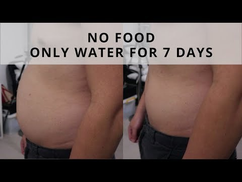 7 DAYS WATER FAST RESULTS | 15 LBS IN 7 DAYS