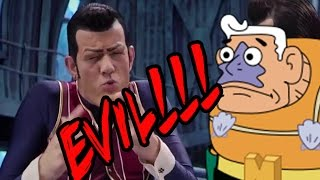 """We Are Number One But Every """"One"""" Is Replaced By Mermaid Man Saying Evil"""
