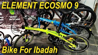 Sepeda Lipat Element Ecosmo 9 Special Edition BFI Bike For Ibadah #element #ecosmo9 #MQBike #BFI