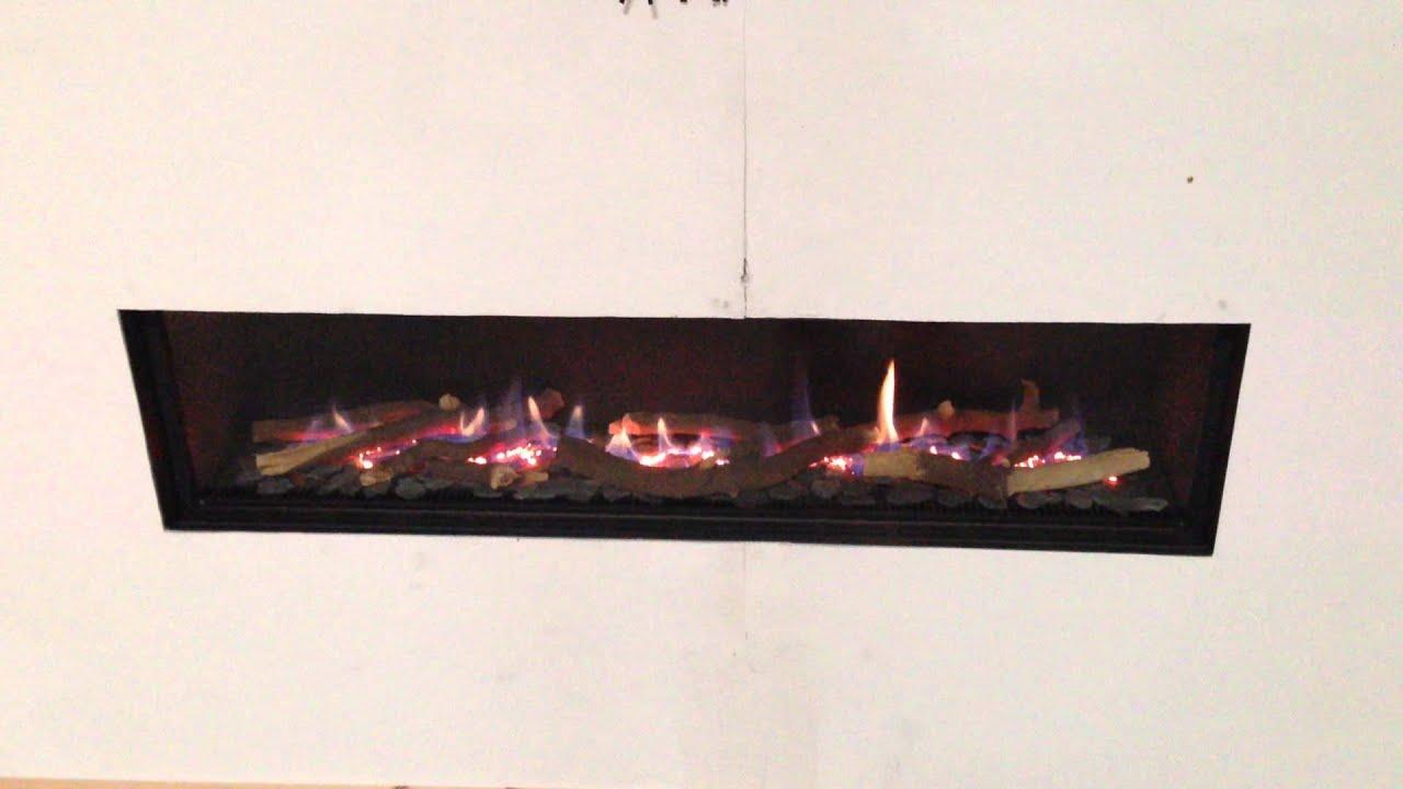 venezia 130 balanced flue gas fire by spirit fires ltd uk youtube
