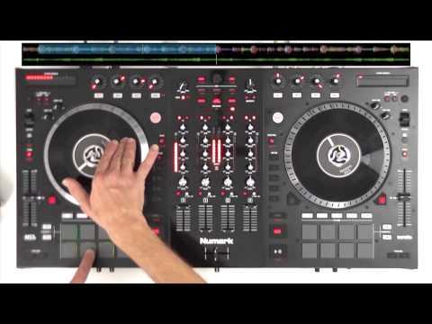 Numark NS7 II Motorised Platter DJ Controller