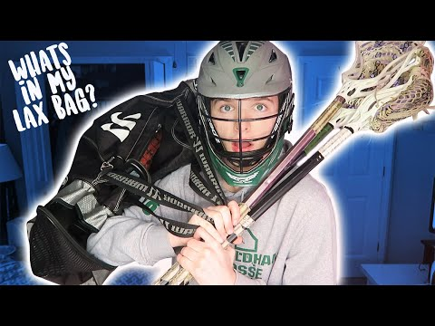 WHAT'S IN MY LACROSSE BAG 2018?!?!