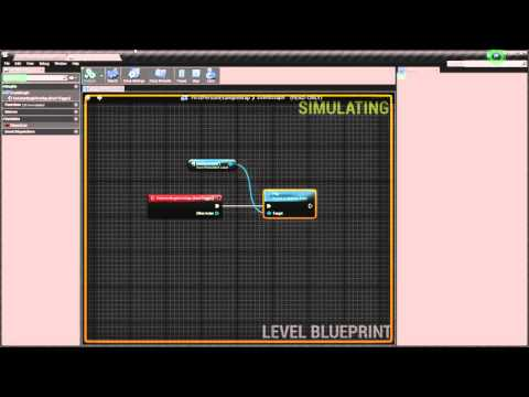 UE4 Automatic and button press door Tutorial