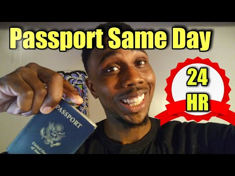 Same Day Passport