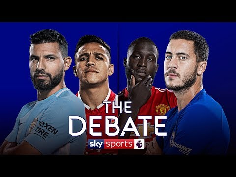 LIVE!  Chelsea v Man Utd & Man City v Arsenal Preview | Alan Smith & Simon Jordan | The Debate
