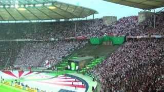 dfb pokal finale 2013 fc bayern mnchen vfb stuttgart cannstatter kurve tv ultras stuttgart hd