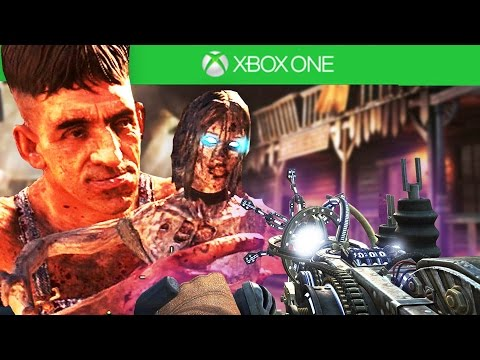 BURIED EASTER EGG ON XBOX ONE! - BLACK OPS 2 ZOMBIES XBOX ONE GAMEPLAY! (BO2 Backwards Compat)