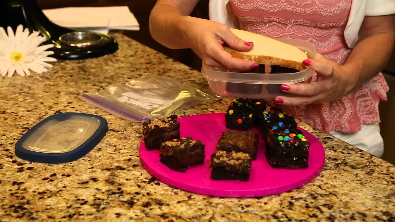 How to Preserve Brownies : Sugar & Spice